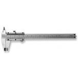 Pocket slide caliper 125x40mm 1/10mm, chrome plated