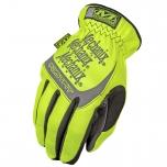 Gloves HI-VIZ FAST FIT 91 HiViz yellow 10/L