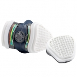 Half mask GVS Elipse SPR491 with ABEK1P3 Filters, size M/L