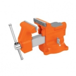 Bench vise Heavy Duty 125mm 15,8kg turnable 180° 18593