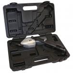 TurboShear Heavy Duty skardos kirpimo priedas lagamine. Tvirtinamas prie akumuliatorinio suktuvo ar elektrinio gręžtuvo. Max kirpimo storis 1,2mm cinkuotoje skardoje.