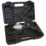 TurboShear™ heavy-duty metal cutting drill attachment in case