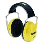 Apsauginės ausinės vaikams Uvex Junior, SNR:29dB, geltonos
