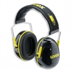 Earmuffs K2. SNR: 32dB, black/yellow. Soft head band.