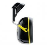 Apsauginės ausinės, tvirtinamos prie šalmo Uvex K2H, SNR: 30dB, juodos/geltonos