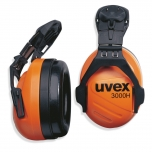 Earmuffss helmet mounted  Uvex dBex 3000 H, orange