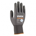 Safety gloves Uvex Phynomic Lite,  grey, size 8