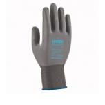 Safety gloves Uvex Phynomic XS, grey, size 07