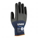 Safety gloves Uvex Phynomic Pro, blue, size 8