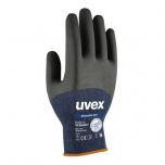 Safety gloves Uvex Phynomic Pro, blue, size 9