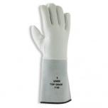 Welder 100% nappa welding glove, split leather cuff, Kevlar seams Uvex Top grade 7100, size 11