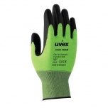 Safety gloves Uvex C500 foam, cut level 5, green, size 8