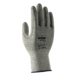 Safety gloves Unidur 6649, level 3 cut resistant, HPPE, Polyamid, Elastan/PU coating, size 11