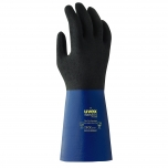 Safety nitrile-gloves Uvex Rubiflex S XG, flock lining, 35mm, size 9