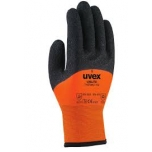 Winter safety gloves Uvex Unilite Thermo HD, orange, size 8