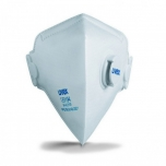 Face mask silv-Air classic 3110 FFP 1, folding mask with valve, white, 1 pcs packed