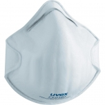 Face mask silv-Air classic 2100 FFP 1, preformed mask without valve, white, 3 pcs retail pack