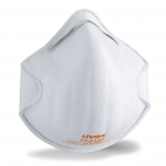 Face mask silv-Air classic 2200 FFP 2, preformed mask without valve, white, 3 pcs retail pack