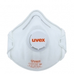 Face mask silv-Air classic 2210 FFP 2, preformed mask with valve, white, 3 pcs retail pack