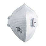 Face mask silv-Air classic 3310 FFP 3, folding mask with valve, white, 2 pcs retail pack