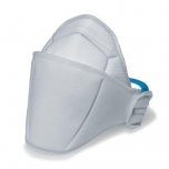 Face mask silv-Air Premium 5100 FFP1, folding mask without valve, white, 1 pcs packed