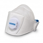 Face mask Uvex silv-Air Premium 5110+ FFP1, ffoldable with valve, for larger faces