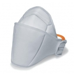 Face mask silv-Air Premium 5200 FFP2, folding mask without valve, white, 1 pcs packed