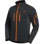 softshell-jacket 8946/anthracite, L