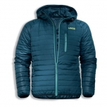 K26 padded jacket 7404/petrol          L