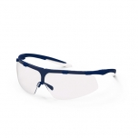 Safety glasses Uvex Super fit, clear lens, supravision excellence (anfi scratch, anti fog) coating,  blue/transparent