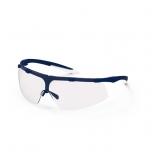 Safety glasses Uvex Super fit, clear lens, supravision excellence (anfi scratch, anti fog) coating,  blue/transparent