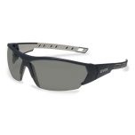 Safety glasses Uvex i-works, grey lens, supravision excellence (anfi scratch, anti fog) coating,  antrazit/grey. RT package