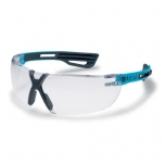 Safety glasses Uvex X-fit PRO, clear lens, supravision excellence (anfi scratch, anti fog) coating. Blue/anthracite