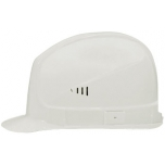 Safety helmet Super boss, White, side ventilation, 52-61 cm