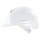 Safety helmet Pheos B, White, variable ventilation, 51-61 cm. Safety glass adapter system