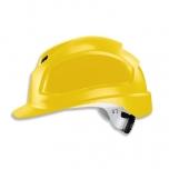 Kiiver Uvex Pheos B-WR, kollane, reguleeritava ventilatsiooniga, 55-61 cm, pingutus rattaga