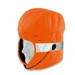 uvex winter hood hi-viz orange