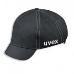 Apsauginė kepurėlė su vidiniu kiautu, trumpu snapeliu Uvex U-cap sport juoda 60-63