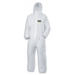 Disposable SMS coverall Uvex 5/6 Air 7457 White, size L