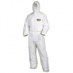 Disposable coverall Type 5/6 9877 White-lime, size M