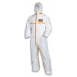 Disposable coverall Type 4B Climazone 9878 White-orange, size XXXL