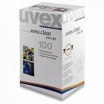 Glasses lens cleaning towelettes Uvex, 1pcs