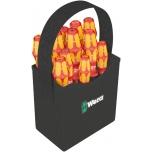 Wera Kraftform 2go 100 VDE 16-piece s/driver set, LaserTip, extra-slim, tool container