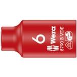 "Wera VDE Zyklop 3/8"" drive socket 6.0 x 46.0 mm"