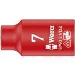 "Wera VDE Zyklop 3/8"" drive socket 7.0 x 46.0 mm"