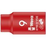 "Wera VDE Zyklop 3/8"" drive socket 9.0 x 46.0 mm"