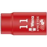 "Wera VDE Zyklop 3/8"" drive socket 11.0 x 46.0 mm"