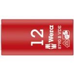 "Wera VDE Zyklop 3/8"" drive socket 12.0 x 46.0 mm"