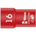 "Wera VDE Zyklop 3/8"" drive socket 16.0 x 46.0 mm"