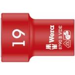 "Wera VDE Zyklop 3/8"" drive socket 19.0 x 46.0 mm"